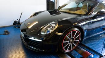 Totalcar Erőmérő: Porsche 911 3.4 Cabrio