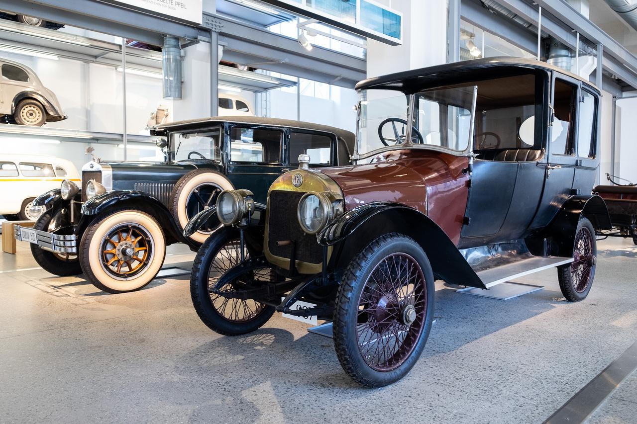 1913-ban már ilyen impozáns és elegáns autókat készített a Laurin&Klement, mint ez a Typ SG