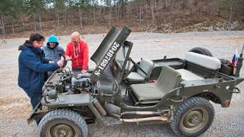 Beindítjuk Szlovéniát - Willys Jeep és Dodge WC42