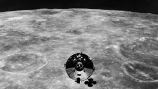 Az első amerikai űrhajósok eltévedtek a Holdon