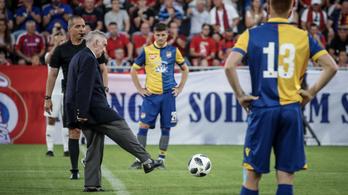 Orbán nélkül avatta fel a Vasas az új stadionját