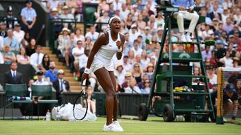 15 éves amerikai tenisztehetség: Remélem, Beyoncé is látta