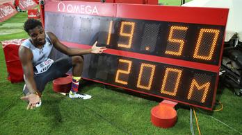 Usain Bolt londoni aranya óta nem futottak ilyen gyors 200 métert
