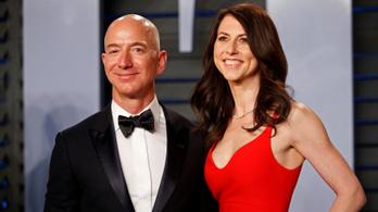 Végleges: 38 milliárd dollárba kerül az Amazon alapítójának a válás