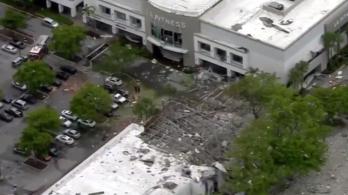Gázrobbanás történt egy floridai bevásárlóközpontban