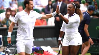 Serena Williams és Murrary párosa lesöpörte ellenfelét