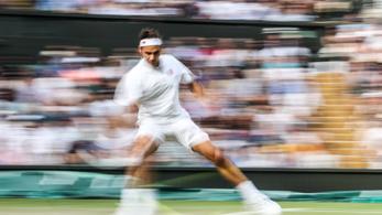 Federer átírt pár rekordot Wimbledonban