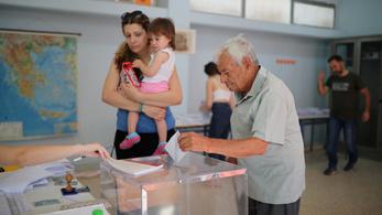 Elkezdődött az előrehozott választás Görögországban