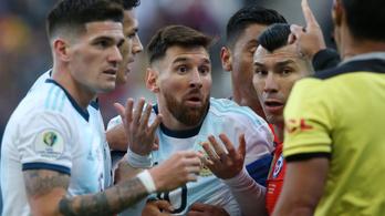 Messi korruptnak nevezte a Copát a kiállítása után