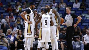 A Lakersnél lassan összeáll a két évvel ezelőtti Pelicans