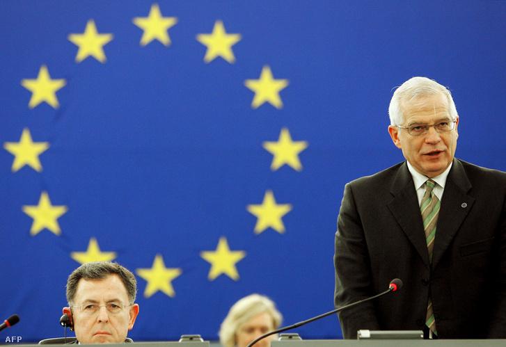 Josep Borrell 2004 és 2007 között az EP elnöke volt