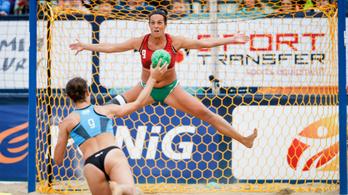 Ezüst- és bronzérmet nyertek a magyarok a strandkézilabda-Eb-n
