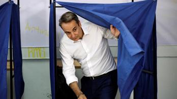 A jobbközép ellenzék legyőzte Cipraszt az előrehozott görög választáson