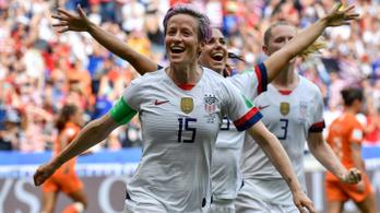 Videóbírós 11-essel, nagy lövéssel az USA a női futballvilágbajnok