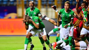 Madagaszkár tovább írta csodás futballsztoriját