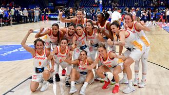 A spanyolok lesöpörték a franciákat a női kosár-Eb döntőjében