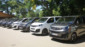 Opel Zafira, Vivaro, Combo, meg a többi - 2019.