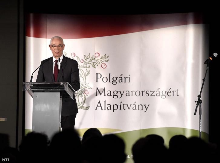 Balog Zoltán, a Polgári Magyarországért Alapítvány elnöke