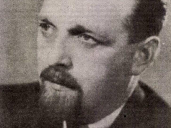 Brusznyai Árpád (1924-1958). Forrás: Magyar Nemzet 2002. január / Arcanum adatbázis