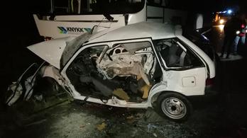 Halálos baleset történt Balinkán