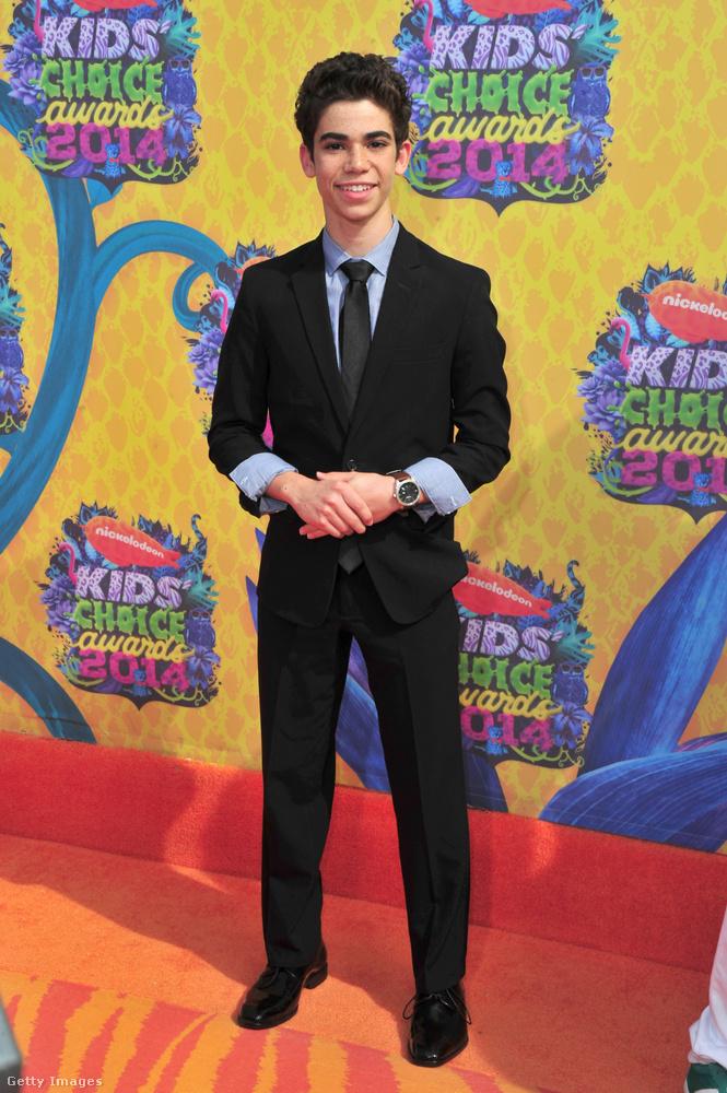A kép 2014-ben, a  Nickelodeon's Annual Kids' Choice Award díjátadóján készült