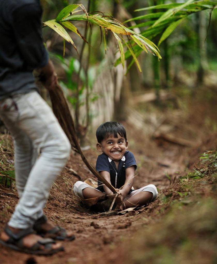 Gyermekkor - India.