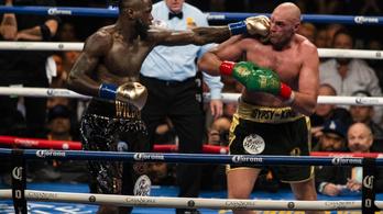 Februárban bokszol újra Fury és Wilder