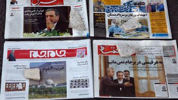 Irán: Hatvan napja van Európának, különben elképesztőt lépünk