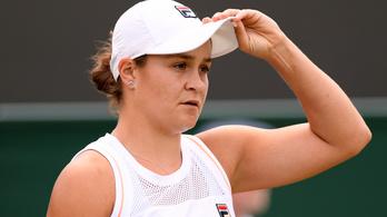 Wimbledonban szakadt meg a női világelső győzelmi sorozata