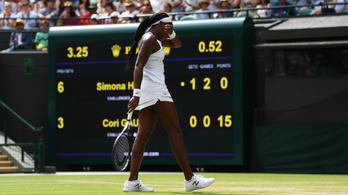 Wimbledon: két szettben elvérzett a 15 éves Cori Gauff