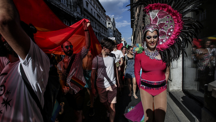 The first Budapest Pride with no barriers