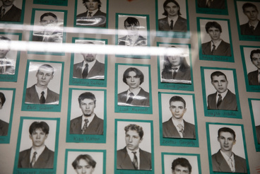 Marci tablóképe a Faller Jenő középiskolában