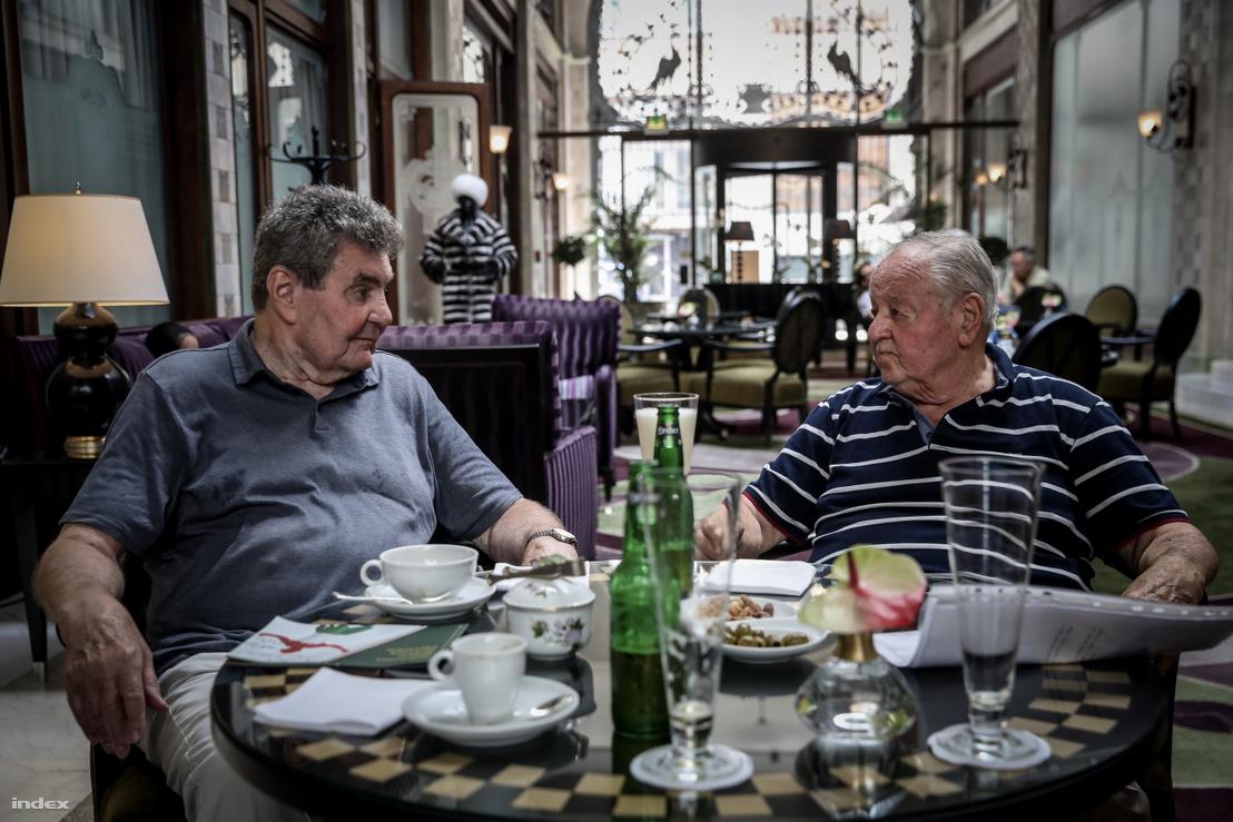 Domján Árpád és Kárpáti György