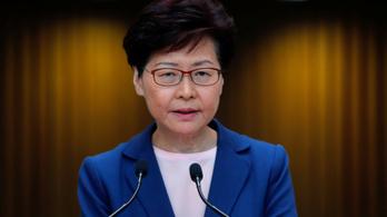 A hongkongi kormányzó szerint halott a kiadatási törvénytervezet