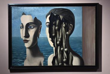 René Magritte A kettős titok című festménye