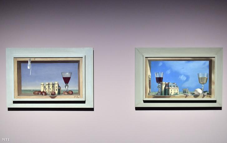 Pierre Roy Szent Mihály nyara (b) és Egy nap vidéken című festménye