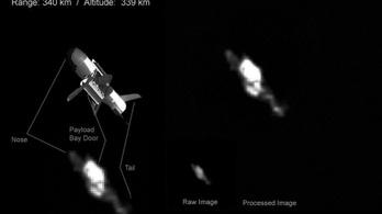 Lefotózták a titokzatos amerikai űrsiklót