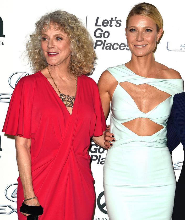 Blythe Danner és Gwyneth PaltrowÚjabb színésznő páros, akik egymás elértő korú klónjai is lehetnének