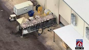 Tűz ütött ki a SpaceX telepén, ahol a Mars-utazó csillaghajót építik