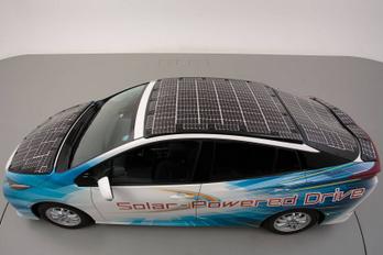 Hatékonyabb napelemes Priust épített a Toyota