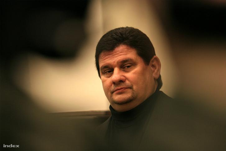 Princz Gábor a Postabank-per egyik tárgyalásán