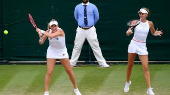 Legjobb négy közé jutottak Babosék Wimbledonban