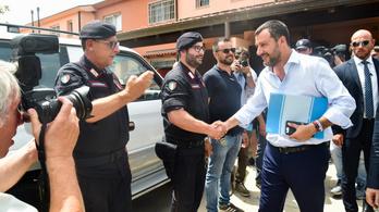 Matteo Salvini felszámolta a legnagyobb olasz menekülttábort