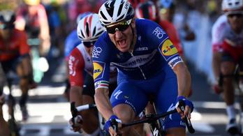 A sárga trikós vezette fel a szakaszgyőztes sprintjét a Touron