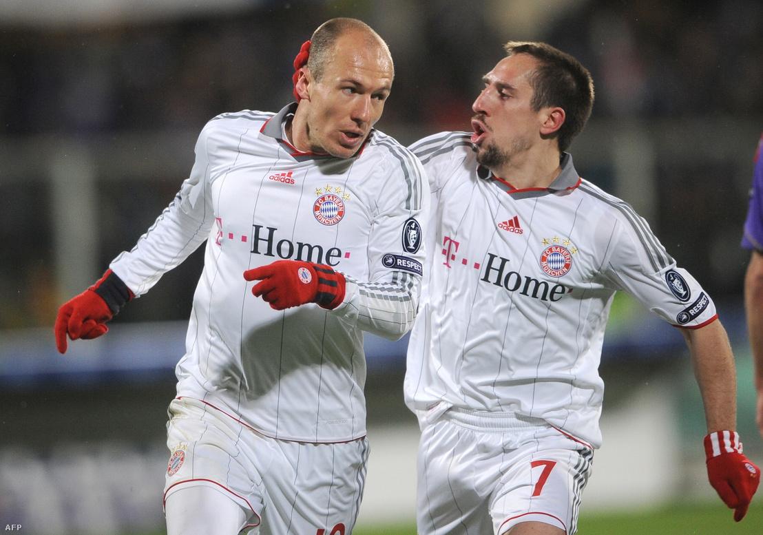 Arjen Robben és Franck Ribery (2010)