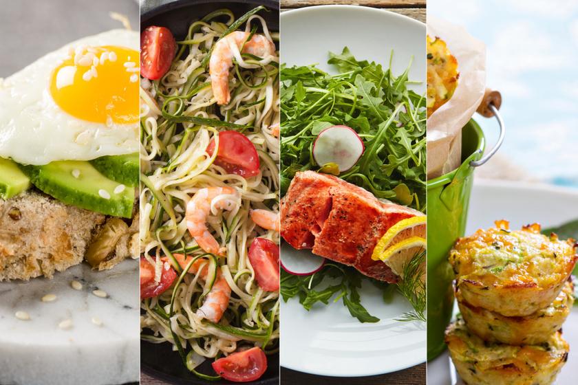 1400 kalóriás heti menüt mutatunk: könnyen összeállítható fogyókúrás étrend képeken