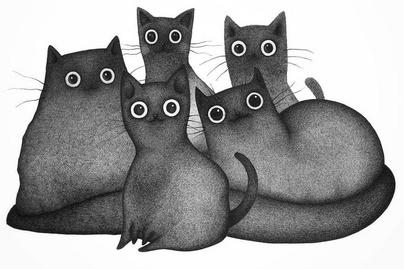 macskak-rajz