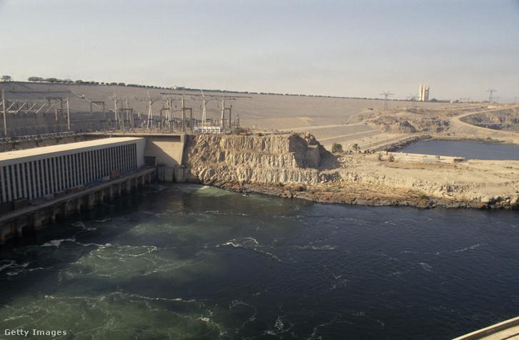 Asszuáni-főgát a Nílusnál