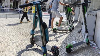 28 embert vettek őrizetbe ittas rollerezés miatt Koppenhágában
