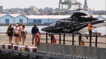 Helikopteres személyszállítást indított az Uber New Yorkban